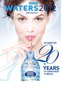 Nestlé Waters yearbook